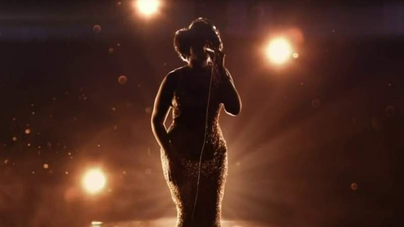 Aretha Franklin's niece discusses new trailer for movie profiling her aunt's life