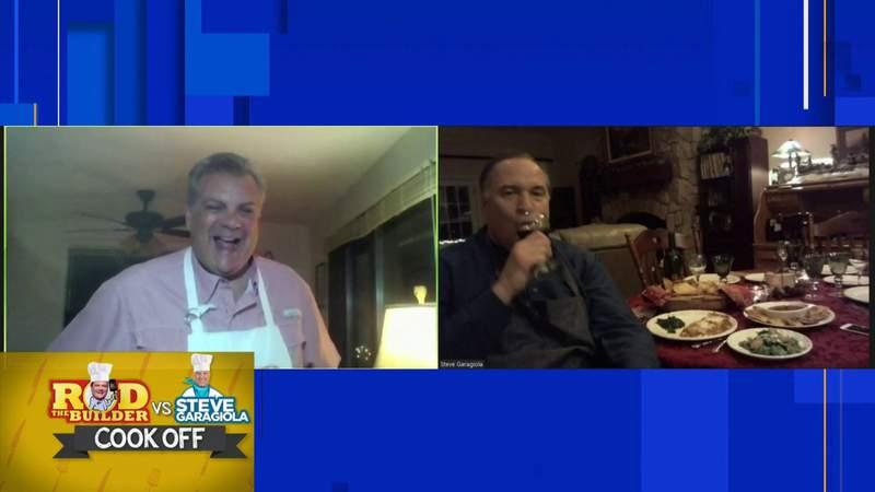 Rod the Builder vs. Steve Garagiola in classic Italian cook-off, 6:30 p.m.