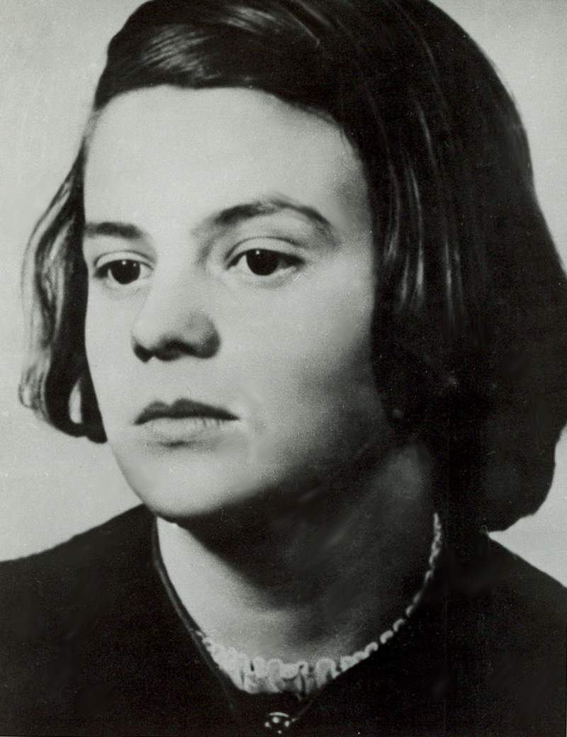 FILE - This undated file photo shows German Sophie Scholl, member of the Nazi resistance activist group 'White Rose'. May 9, 2021 marks the 100th anniversary of her birth. (AP Photo, file)