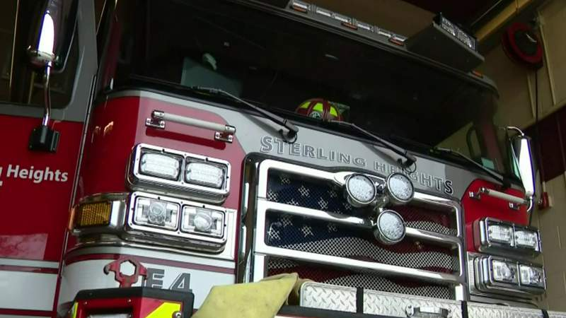 Sterling Heights family grateful for fire department's life-saving visit