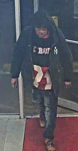 The man wanted by Detroit police for the stabbing that took place on Saturday, Jan. 2, 2021.