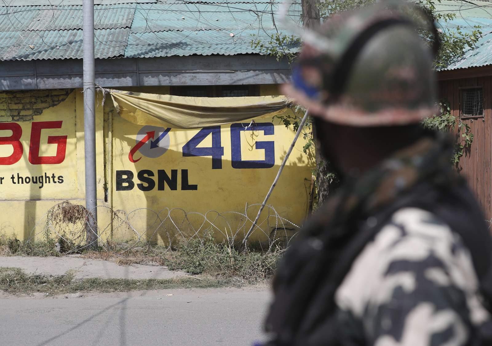 India restores 4G mobile internet in Kashmir after 550 days