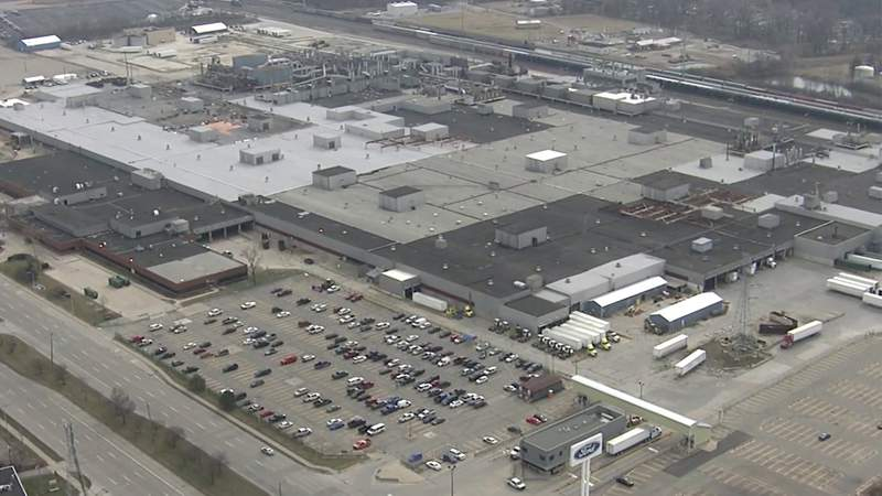 Ford Michigan Assembly Plant in Wayne, Mich.