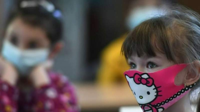 Children as young as 2 now required to wear masks in public