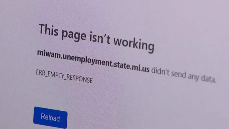 Michigan unemployment benefits expand; website for workers to apply for benefits crashes