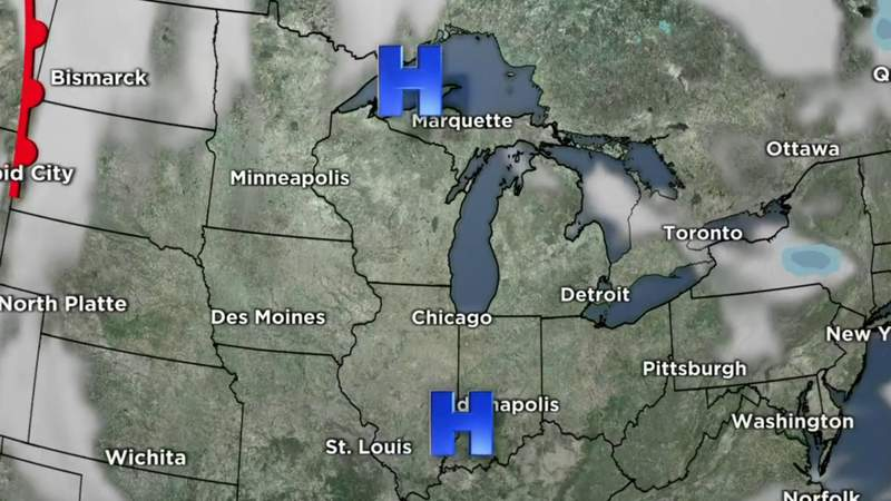 Metro Detroit weather forecast for March 6, 2021 -- 6 p.m. Update