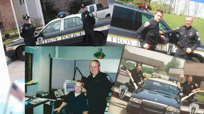 Like father, like son -- Meet the Troy police officers who followed their father's footsteps