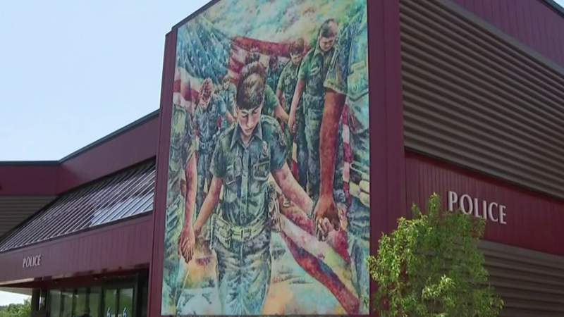 DIA-commissioned mural for police causing controversy in Sterling Heights