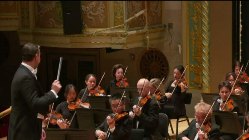 Detroit Symphony Orchestra digital concerts on Live in the D