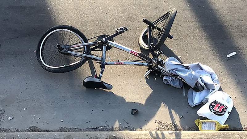 A 36-year-old man was killed March 14, 2021 after his bike was struck by a car on Detroit's west side.