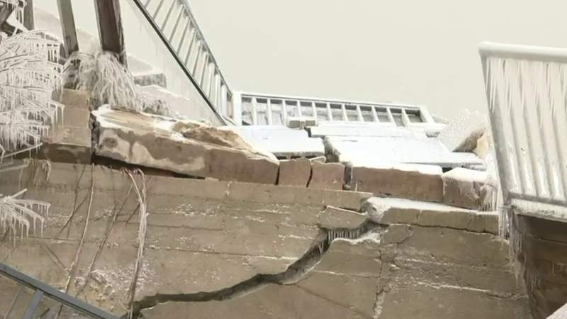 Owner fears house is falling into Lake Huron