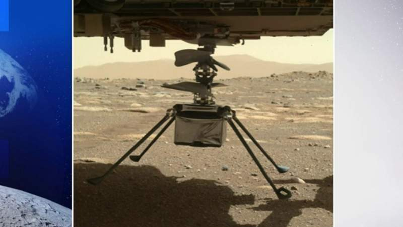 Perseverance update: Small chopper prepares for Mars flight