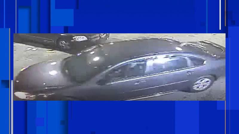 Detroit police are seeking the driver of a dark colored Chevrolet Impala wanted in connection with a fatal shooting on the city's west side on June 16, 2020. Photo provided by the Detroit Police Department.
