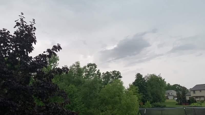 Severe weather in Green Oak Township