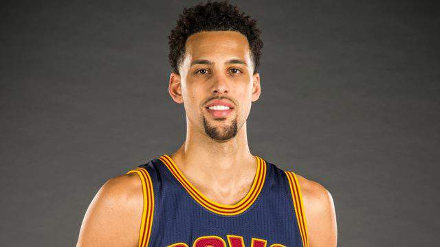 CLEVELAND, OH - SEPTEMBER 28: Austin Daye #15 of the Cleveland Cavaliers during the Cleveland Cavaliers media day at Cleveland Clinic Courts on September 28, 2015 in Independence, Ohio. Daye is now apart of Team Challenge ALS which plays in TBT. (Photo by Jason Miller/Getty Images)