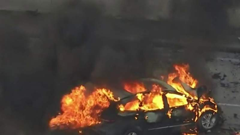 Michigan State Police trooper talks about pulling crash victims from burning SUV