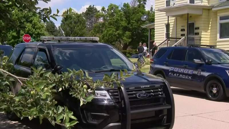 Manhunt for husband after woman found dead inside Flat Rock home
