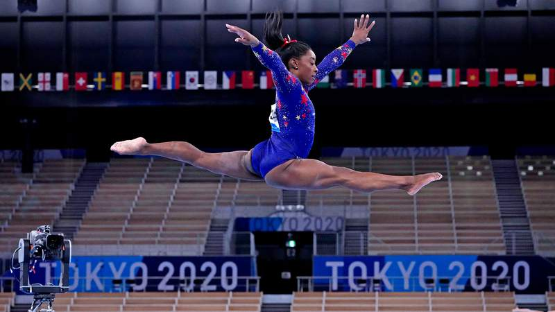 Simone Biles' first chance at a medal comes in the women's team  all-around final on day 4 of the Tokyo Games.