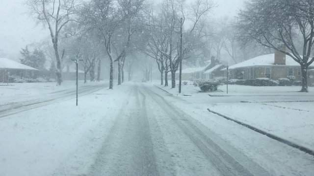 The National Weather Service has issued a winter weather advisory. (WDIV)