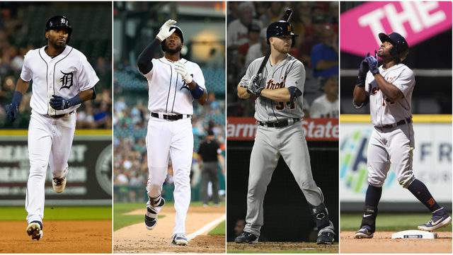 Where should Travis Demeritte, Niko Goodrum, Jake Rogers and Christin Stewart bat for the Detroit Tigers the rest of the season? (Getty Images)