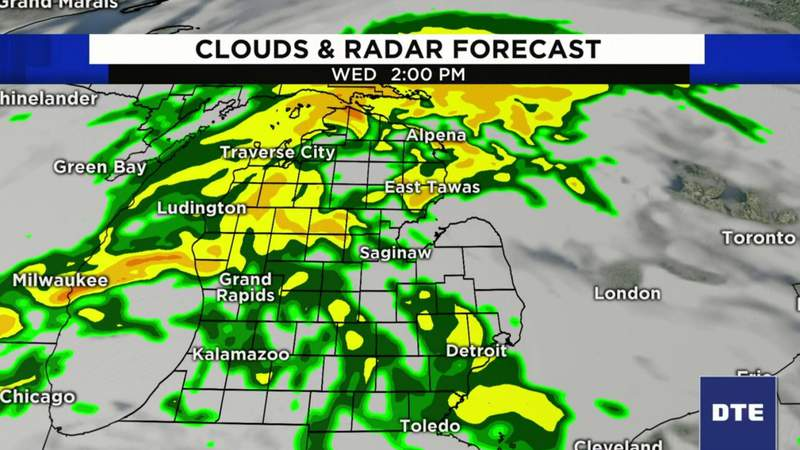 Metro Detroit weather forecast for April 29, 2020 -- morning update