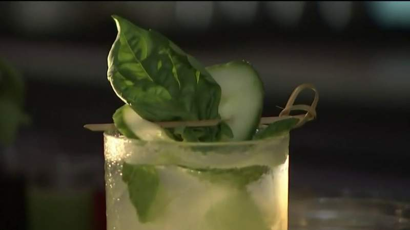 Mocktails from the Oakland Art & Novelty Co. on Live in the D