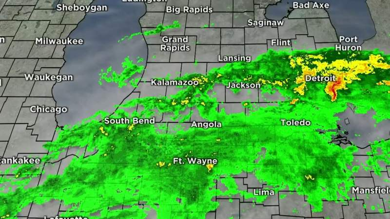 Metro Detroit weather: More rain moves in today; flood warning, advisory, July 16, 2021, noon update