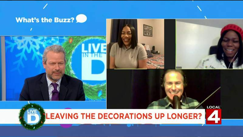 What's the Buzz - Holiday Decorations on Live in the D