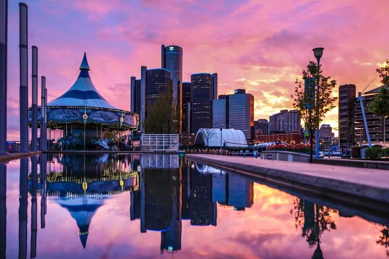 Detroit Riverfront.