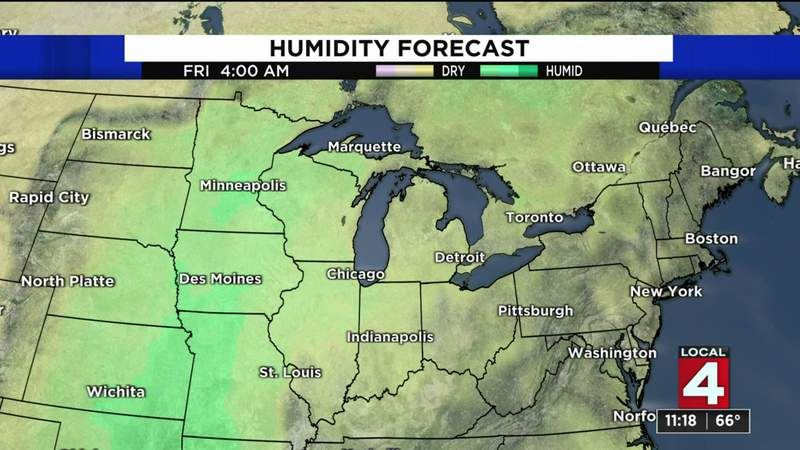 Metro Detroit weather forecast May 19, 2021 -- 11 p.m. Update