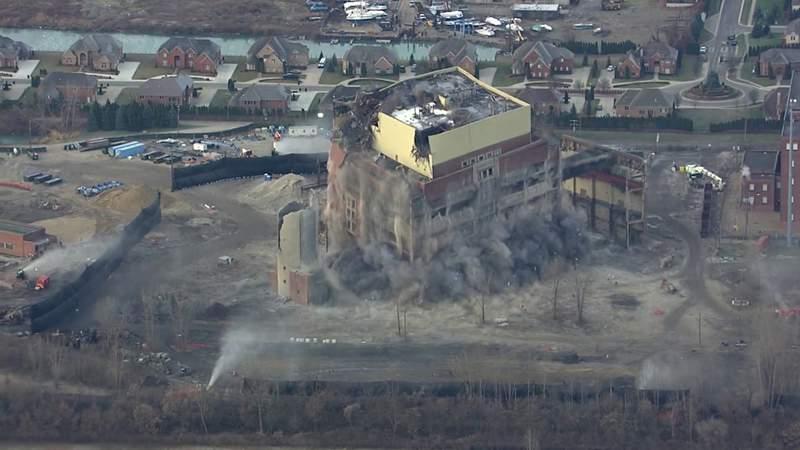 GF Default - Conners Creek Power Plant implosion on Dec. 13, 2019 (extended cut)