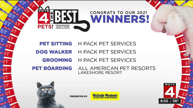 V4TB Vote 4 The Best Pets Winners 2