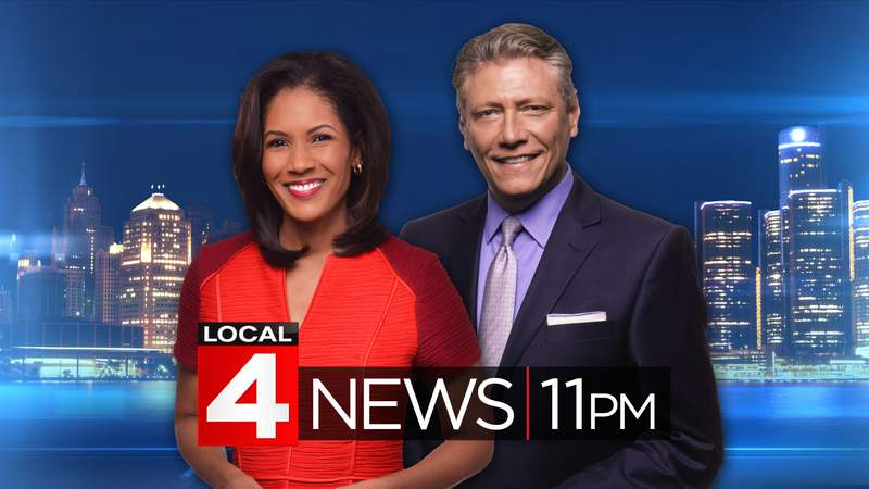 Kimberly Gill and Devin Scillian on Local 4 News at 11.