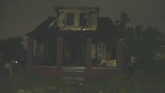 House fire in Southwest Detroit on June 10, 2019.