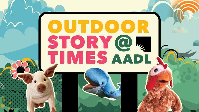 The Ann Arbor District Library will kick off Outdoor Storytimes on July 20, 2021.