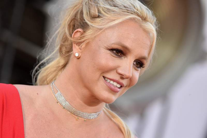 """Britney Spears attends Sony Pictures' """"Once Upon a Time ... in Hollywood"""" Los Angeles Premiere on July 22, 2019 in Hollywood, California. (Photo by Axelle/Bauer-Griffin/FilmMagic)"""