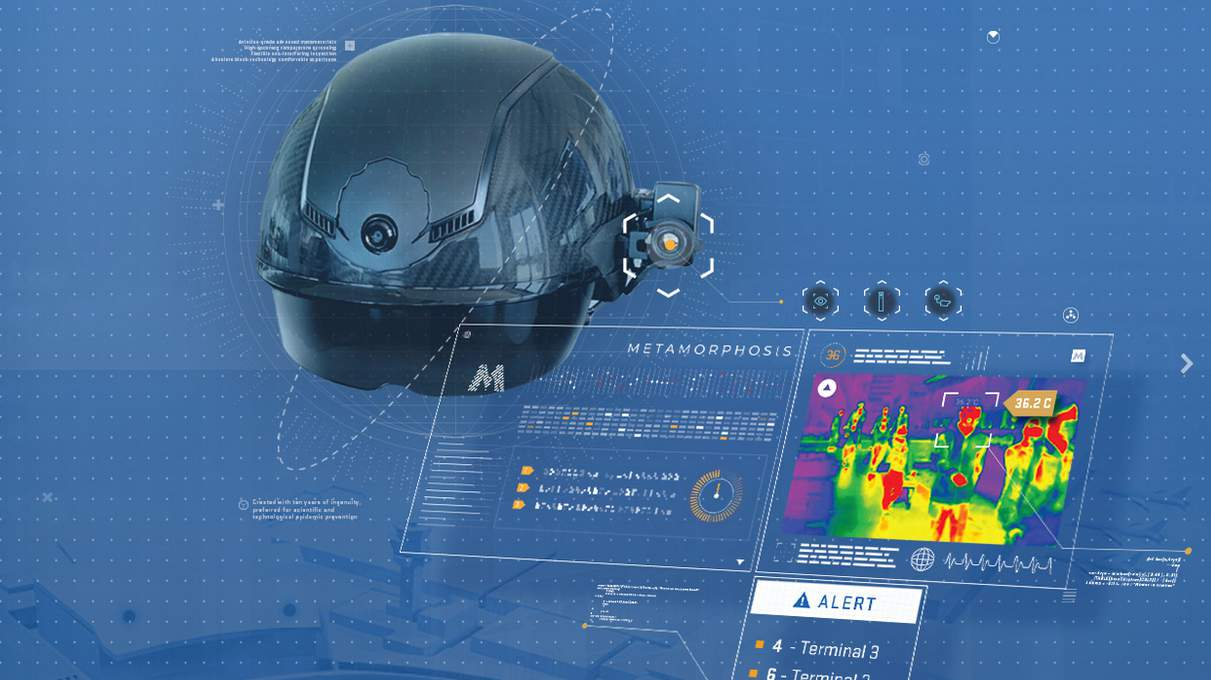 Bishop International Airport to utilize Smart Helmets to measure temperatures, facial recognition