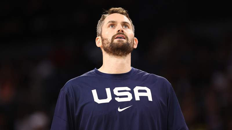 Kevin Love reportedly will not compete at the Tokyo Olympics.