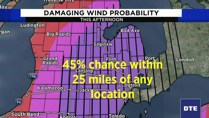 Severe weather expected in SE Michigan -- here's what you should know for June 10, 2020