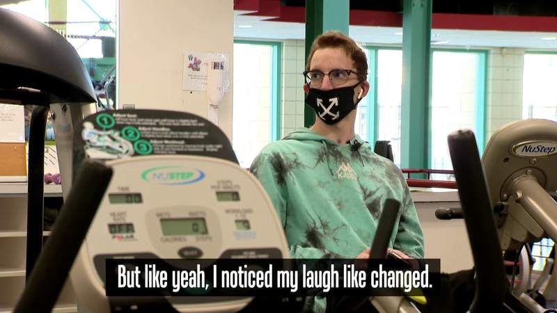 Daniel Ament describes life after double lung transplant