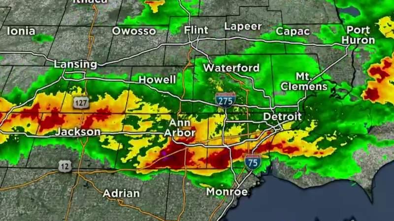 Metro Detroit weather forecast April 7, 2020 -- 11 p.m. Update