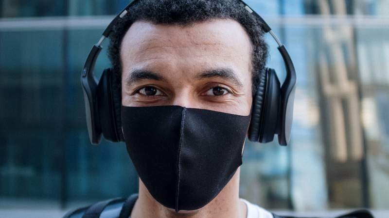 Is your mask plain black or plain white? Jon Jordan has some ideas for you.