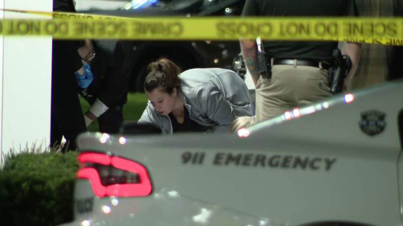 Sterling Heights shooting crime scene