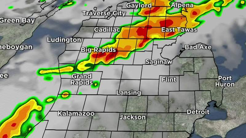 Metro Detroit weather forecast for June 24, 2021 -- 8 a.m. Update