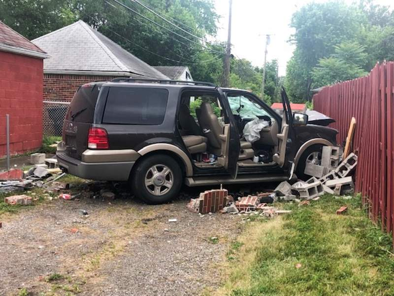 A woman and five children were injured after the vehicle they were passengers in crashed into a garage and fence on June 19, 2021.