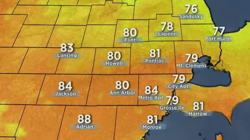 Metro Detroit weather forecast July 23, 2020 -- 5 p.m. Update