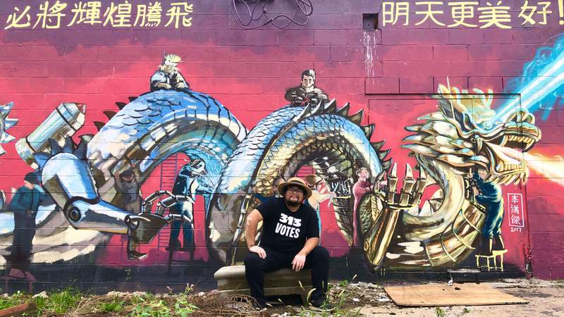 Muralist Anthony Lee on Live in the D