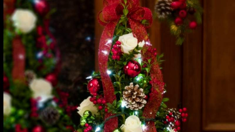 Holiday flower shopping at Viviano Flower Shops on Live in the D