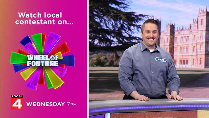 Wheel of Fortune - Local contestant Ken Illich