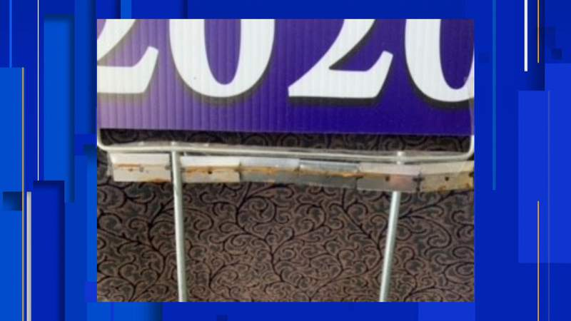 Oakland County Sheriff's Office said a Commerce Township employee was cut by razor blades taped on a sign. The sign was in the road's right-of-way
